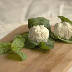 Basil wrapped Goat Cheese Ball Recipe | Yummly