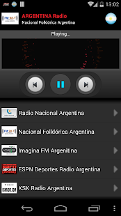 RADIO ARGENTINA - screenshot
