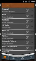 Screenshot of Macedonia Radio