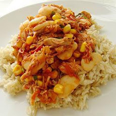 Spicy Chicken And Butterbean Casserole