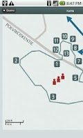 Screenshot of GPS-Taival