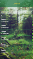 Screenshot of GO SMS PRO FOREST THEME