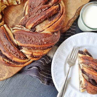 Chestnut Chocolate Bread Wreath