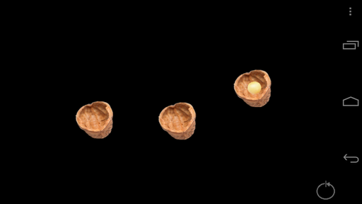 3 Shell Game Magic Trick
