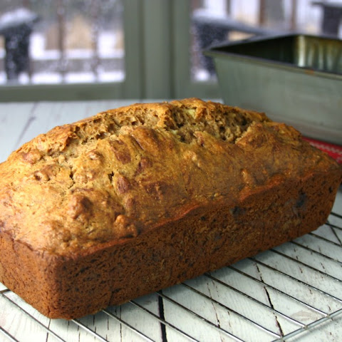 Whole Wheat Honey Banana Bread