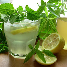 Old Fashioned Lemon Balm and Lemon Verbena Lemonade Syrup