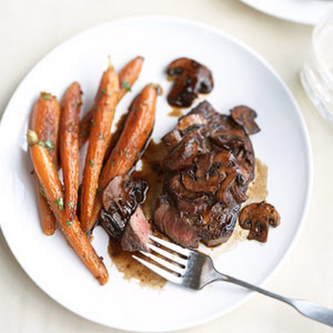 Wine-Glazed Steak