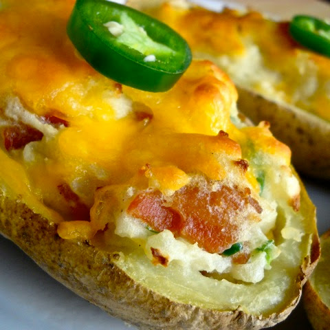 Jalapeno Bacon Stuffed Potatoes