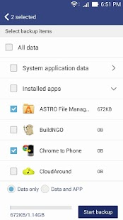 App ASUS Backup APK for Windows Phone