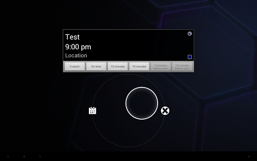 Calendar Event Reminder (CER) - screenshot