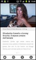 Screenshot of News di gossip italiano