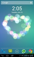 Screenshot of iOS 7 Live Wallpaper 3D PRO