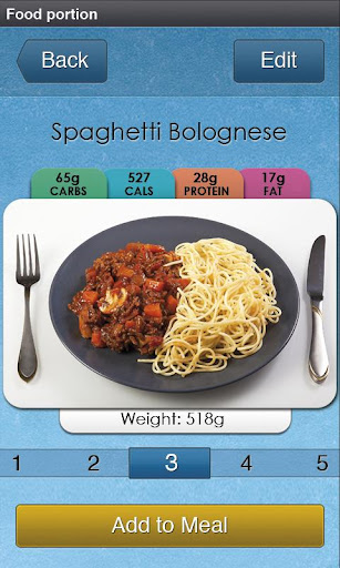 Carbs Cals - Diabetes Diet