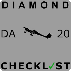 Diamond DA-20 Checklist