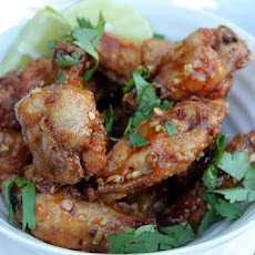 Hanoi-inspired Fried Chicken Wings