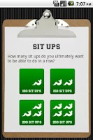 Screenshot of Sit Ups
