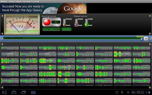 Babbler Audio Recorder