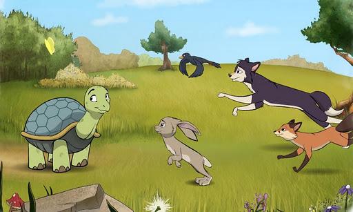 龜兔賽跑: 动画故事书