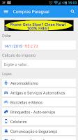 Screenshot of Compras Paraguai