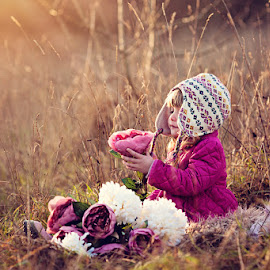 My Flower by Claire Conybeare - Chinchilla Photography - Babies & Children Toddlers