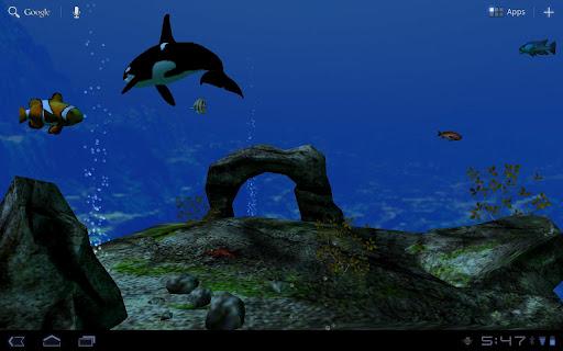 個人化必備免費app推薦|海洋水族館3D壁紙線上免付費app下載|3C達人阿輝的APP