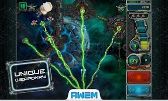 Screenshot of Star Defender 3™.