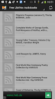 Screenshot of Download Free ebooks (Android)