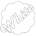 White GO Launcher EX Theme icon
