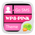 Free GO SMS Pro WP8 PinK ThemeEX APK for Windows 8