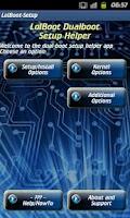 Screenshot of SGS2 Dual-Boot Setup (LolBoot)