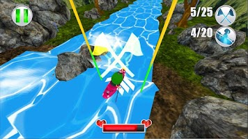 Screenshot of White Water 3D