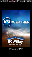 Screenshot of KSL Weather