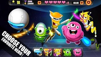 Screenshot of Space Hero