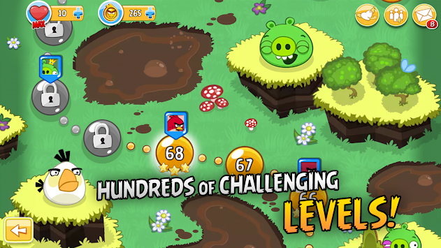 Angry Birds For Kakao APK screenshot thumbnail 2