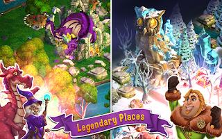 Screenshot of CastleVille Legends