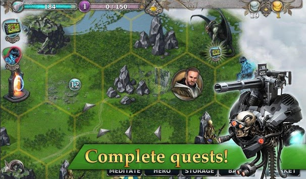 Gunspell - RPG And Puzzle! APK screenshot thumbnail 18