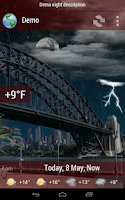 Screenshot of Animated Weather BETA
