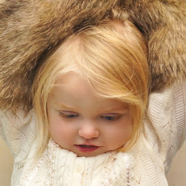 Fur Muffs by Cheryl Korotky - Babies & Children Child Portraits