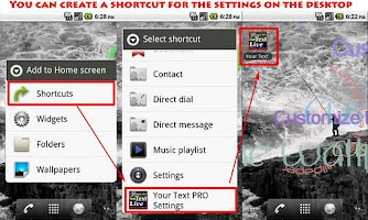 Screenshot of Your Text LW PRO