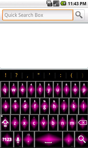 Pink Diamond Keyboard FREE