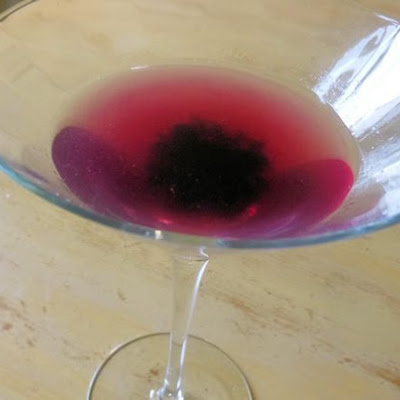 Wild Blueberry Martini