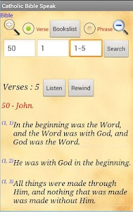 Catholic New Jerusalem Bible - screenshot