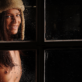 Through the window by Vineet Johri - Nudes & Boudoir Artistic Nude