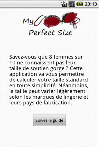 【免費健康App】My Perfect Size-APP點子