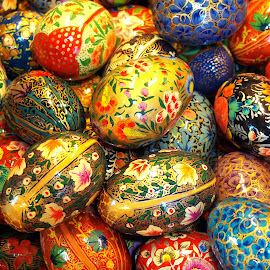 Eggs by Neezal Nizan - Abstract Patterns (  )