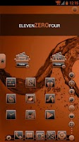 Screenshot of Serenity Launcher Theme Orange