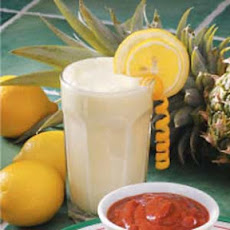 Lemon Pineapple Fizz