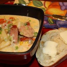 Smoked Sausage and Potato Corn Chowder