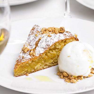 Hazelnut, Ginger And Olive Oil Cake