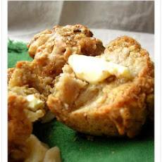 Banana Apple Strudel Muffins